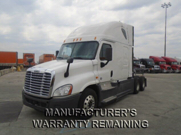 USED 2014 FREIGHTLINER CASCADIA SLEEPER TRUCK #122578