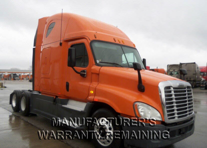 USED 2013 FREIGHTLINER CASCADIA SLEEPER TRUCK #107158