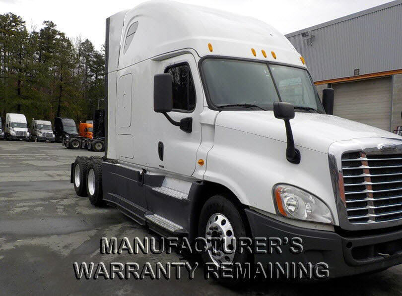 USED 2014 FREIGHTLINER CASCADIA SLEEPER TRUCK #117218