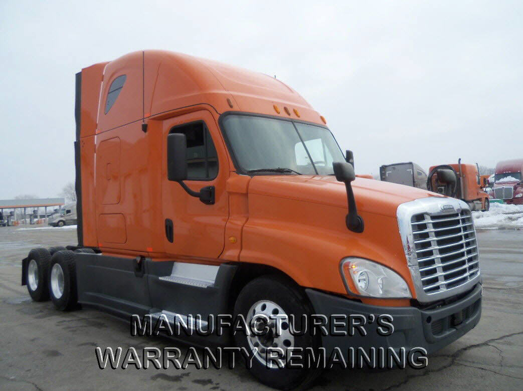 USED 2013 FREIGHTLINER CASCADIA SLEEPER TRUCK #111730