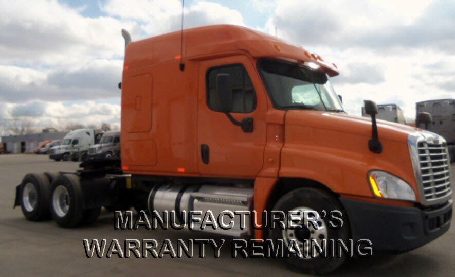 USED 2013 FREIGHTLINER CASCADIA SLEEPER TRUCK #57639