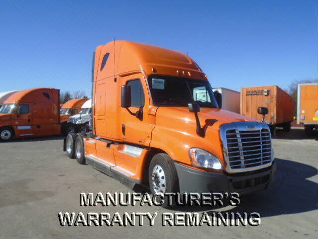 USED 2013 FREIGHTLINER CASCADIA DAYCAB TRUCK #107131