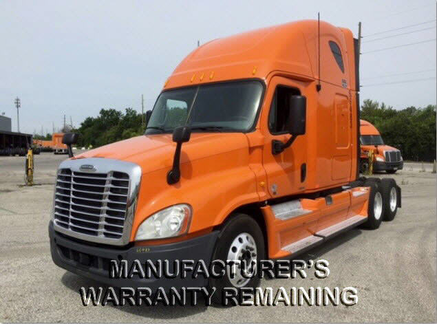 USED 2012 FREIGHTLINER CASCADIA SLEEPER TRUCK #88144