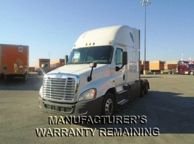 USED 2014 FREIGHTLINER CASCADIA SLEEPER TRUCK #122576