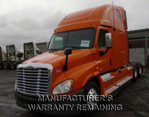 USED 2012 FREIGHTLINER CASCADIA SLEEPER TRUCK #82188