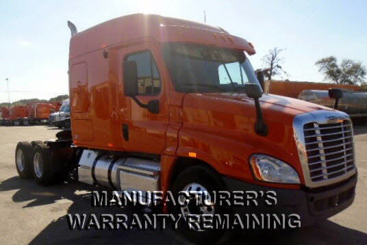 USED 2013 FREIGHTLINER CASCADIA SLEEPER TRUCK #53597