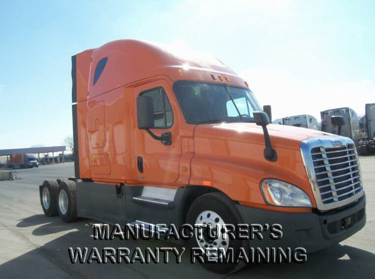 USED 2014 FREIGHTLINER CASCADIA SLEEPER TRUCK #116619