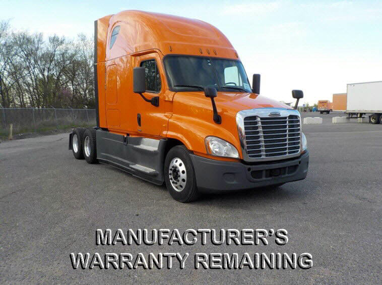 USED 2014 FREIGHTLINER CASCADIA SLEEPER TRUCK #119163