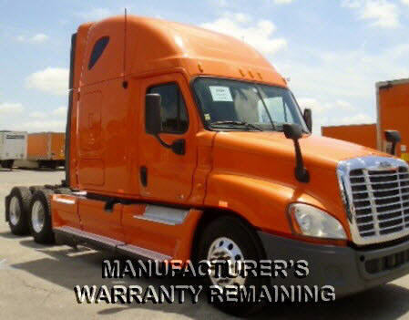 USED 2012 FREIGHTLINER CASCADIA SLEEPER TRUCK #84521