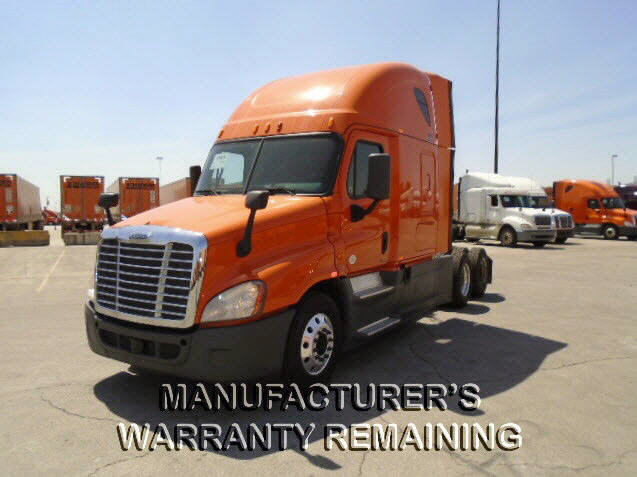 USED 2014 FREIGHTLINER CASCADIA DAYCAB TRUCK #118084