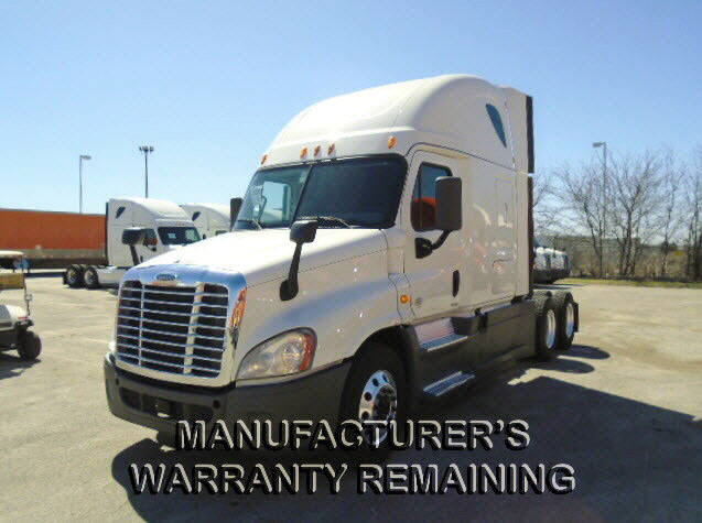 USED 2014 FREIGHTLINER CASCADIA SLEEPER TRUCK #115075