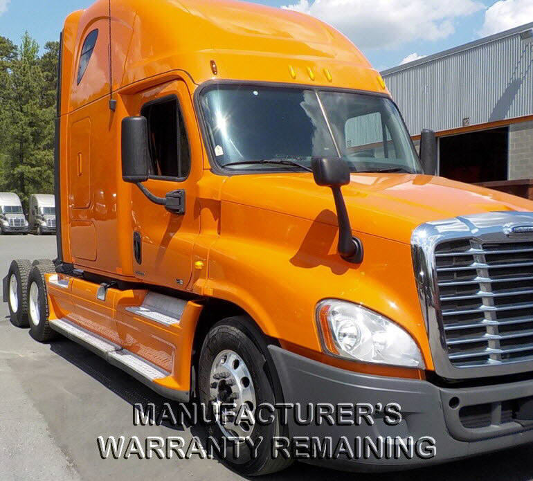 USED 2012 FREIGHTLINER CASCADIA SLEEPER TRUCK #79380
