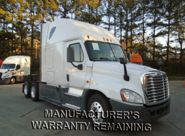 USED 2014 FREIGHTLINER CASCADIA SLEEPER TRUCK #116599