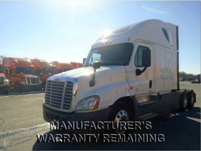 USED 2014 FREIGHTLINER CASCADIA SLEEPER TRUCK #111946