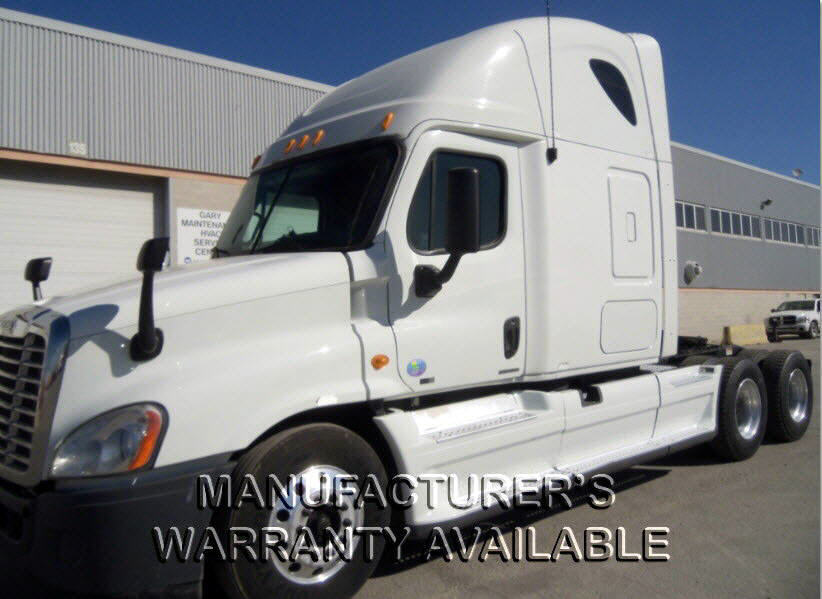 USED 2012 FREIGHTLINER CASCADIA SLEEPER TRUCK #86394