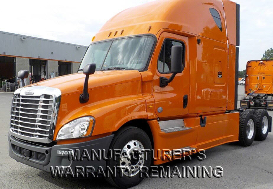USED 2013 FREIGHTLINER CASCADIA SLEEPER TRUCK #84681