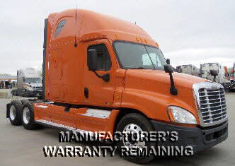 USED 2012 FREIGHTLINER CASCADIA SLEEPER TRUCK #80937