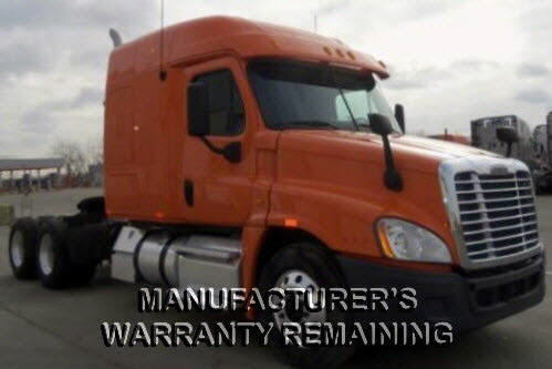 USED 2013 FREIGHTLINER CASCADIA SLEEPER TRUCK #58494