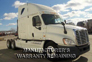 USED 2012 FREIGHTLINER CASCADIA SLEEPER TRUCK #61508