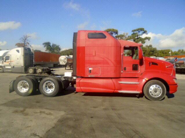 USED 2012 KENWORTH T660 SLEEPER TRUCK #48679