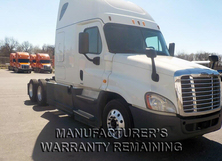 USED 2014 FREIGHTLINER CASCADIA SLEEPER TRUCK #116647