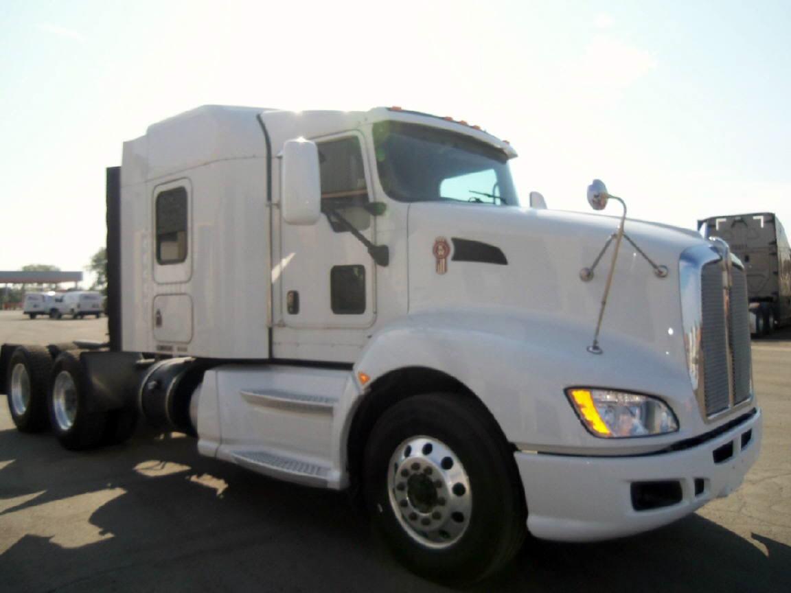 USED 2011 KENWORTH T660 SLEEPER TRUCK #98185