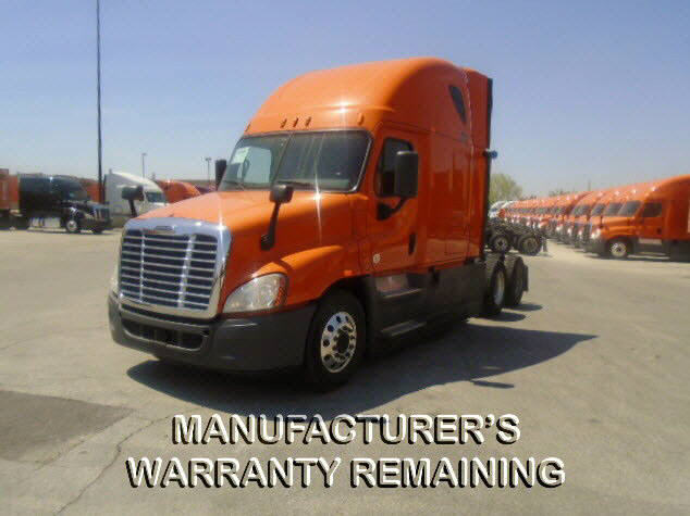 USED 2014 FREIGHTLINER CASCADIA SLEEPER TRUCK #118079
