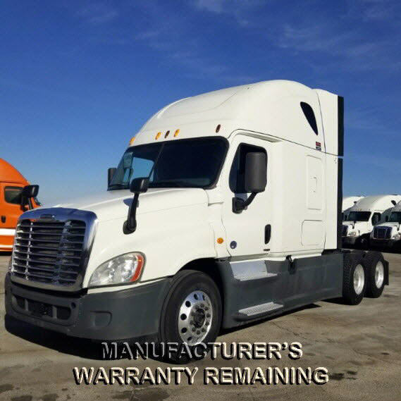 USED 2014 FREIGHTLINER CASCADIA SLEEPER TRUCK #115074