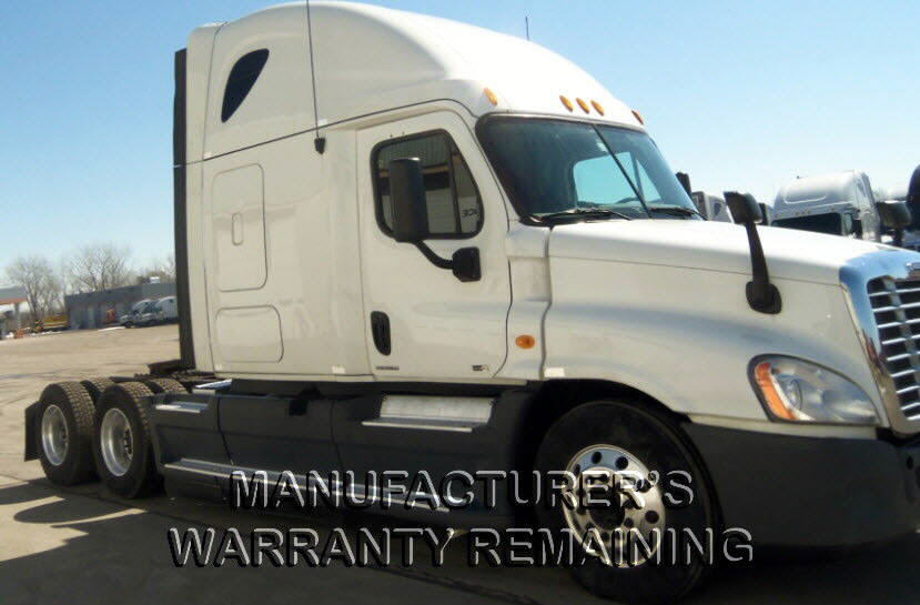 USED 2012 FREIGHTLINER CASCADIA SLEEPER TRUCK #75343