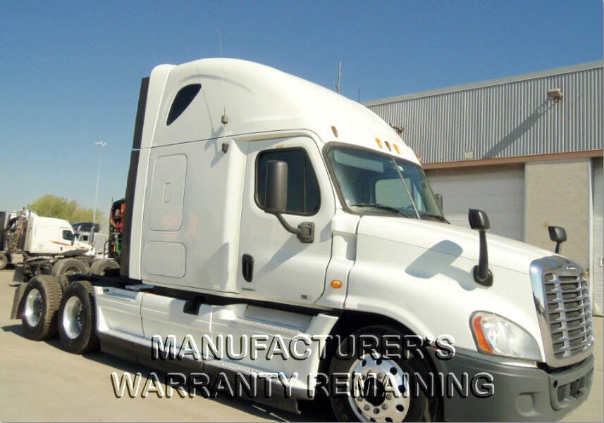 USED 2012 FREIGHTLINER CASCADIA SLEEPER TRUCK #83183