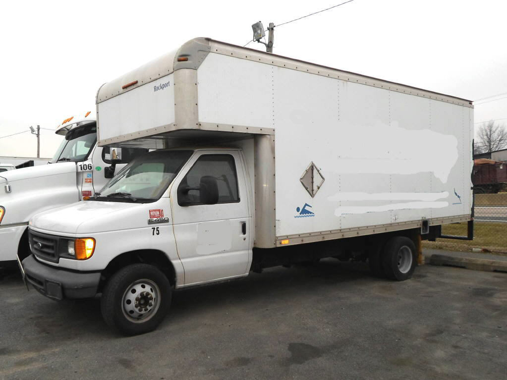 2007 FORD E450 BOX VAN TRUCK #251482
