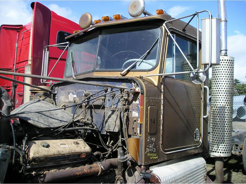 1974 Kenworth W900A CAB ONLY=