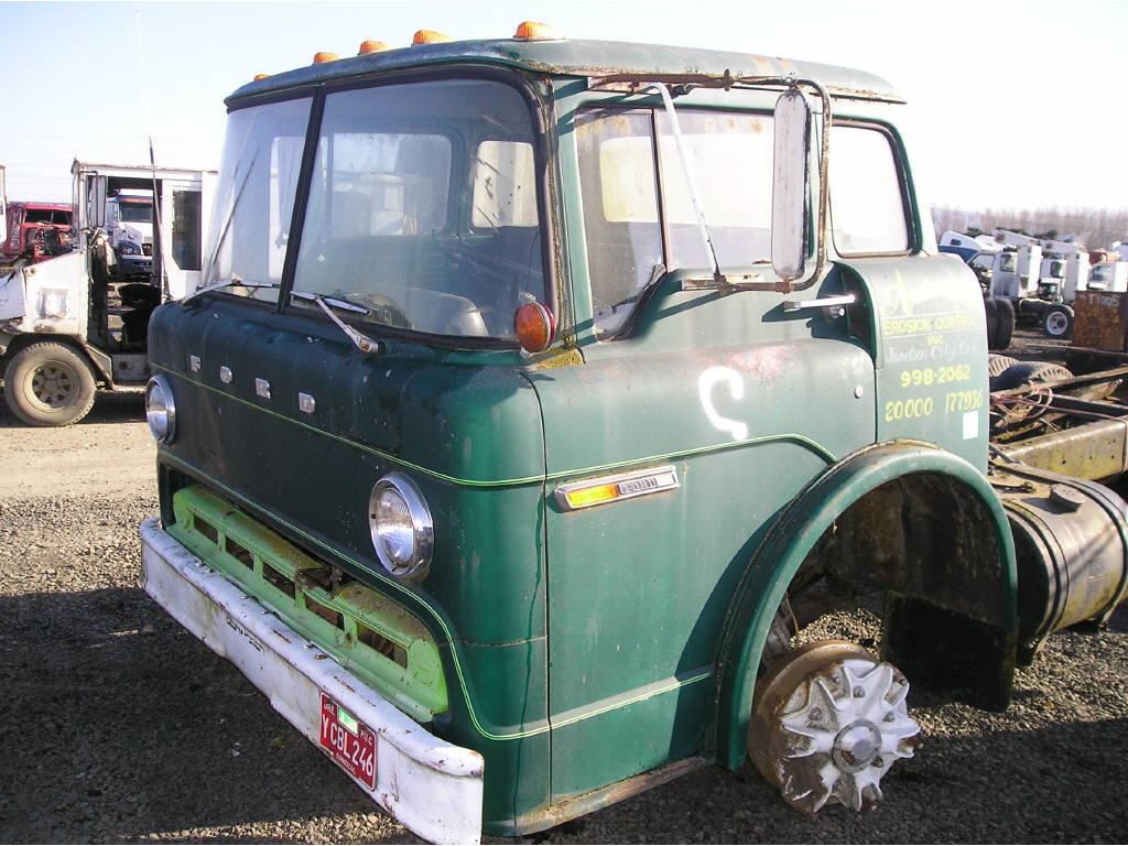 1975 Ford 8000 CAB ONLY