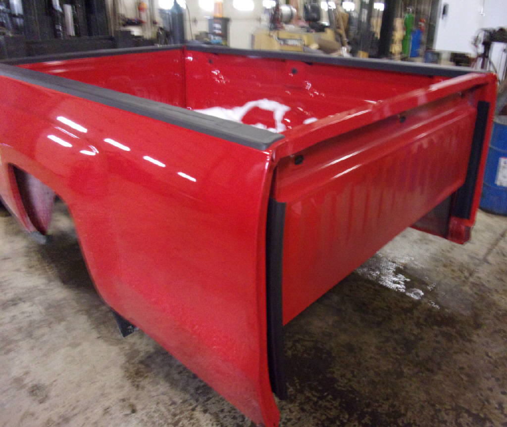 2017 Chevrolet 8' Truck Bed w/