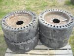 Used 1111 Skid Loader Tires & Rims for Sale