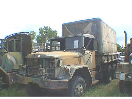 Jeep 2 1/2 TON 6 X 6