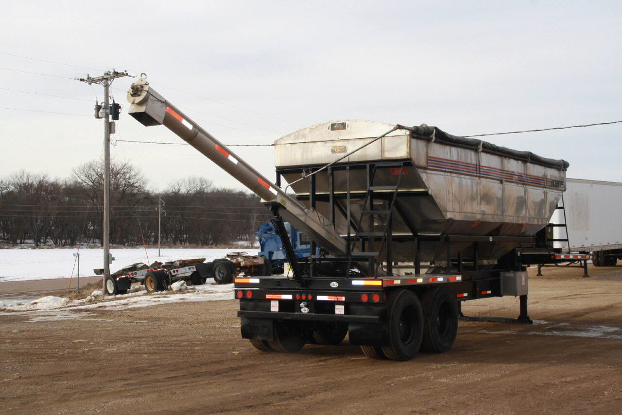 2014 Adams Grain Trailer=