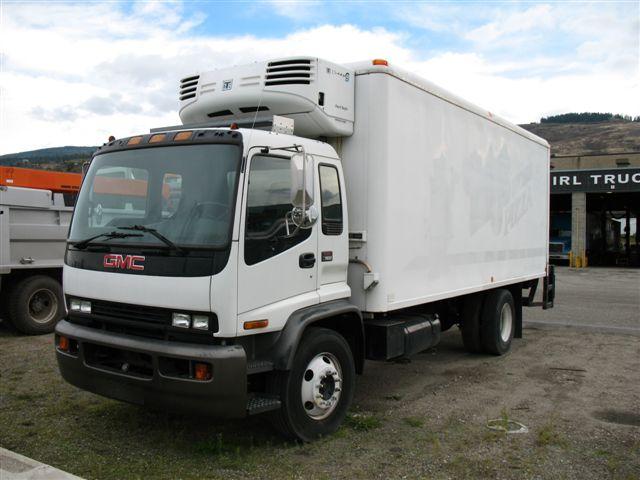 2001 Gmc t7500