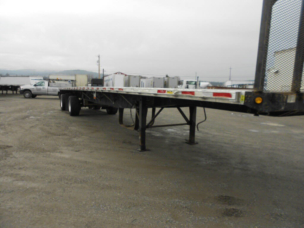 2001 Great Dane combo flatbed