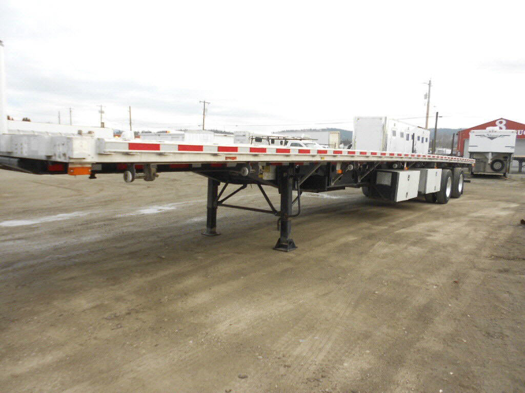 2009 Transcraft combo flatbed