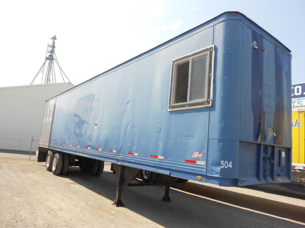 1979 TrailMobile Storage Van