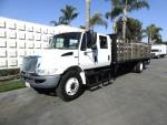 Used 2014 International 4300 24' STAKEB for Sale