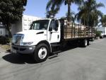 Used 2014 International 4300 26' STAKE for Sale
