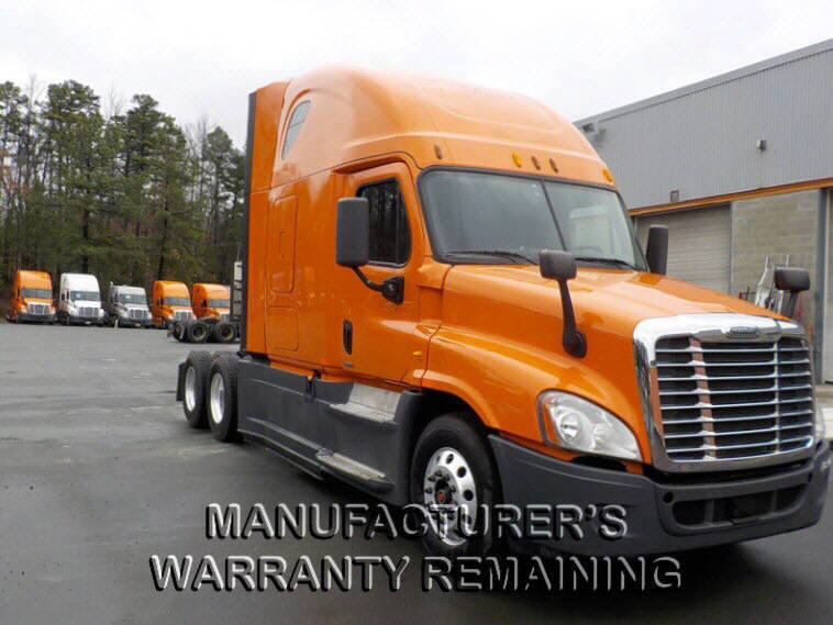 USED 2014 FREIGHTLINER CASCADIA SLEEPER TRUCK #72947