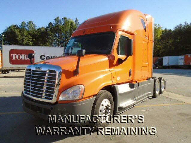 USED 2014 FREIGHTLINER CASCADIA SLEEPER TRUCK #77427