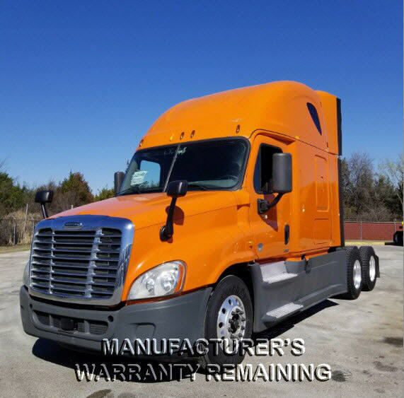 USED 2014 FREIGHTLINER CASCADIA SLEEPER TRUCK #72659