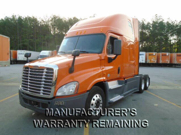 USED 2014 FREIGHTLINER CASCADIA SLEEPER TRUCK #75484