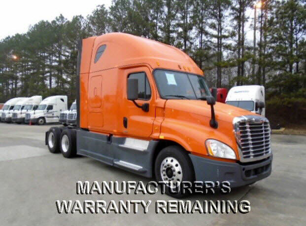 USED 2014 FREIGHTLINER CASCADIA SLEEPER TRUCK #72266