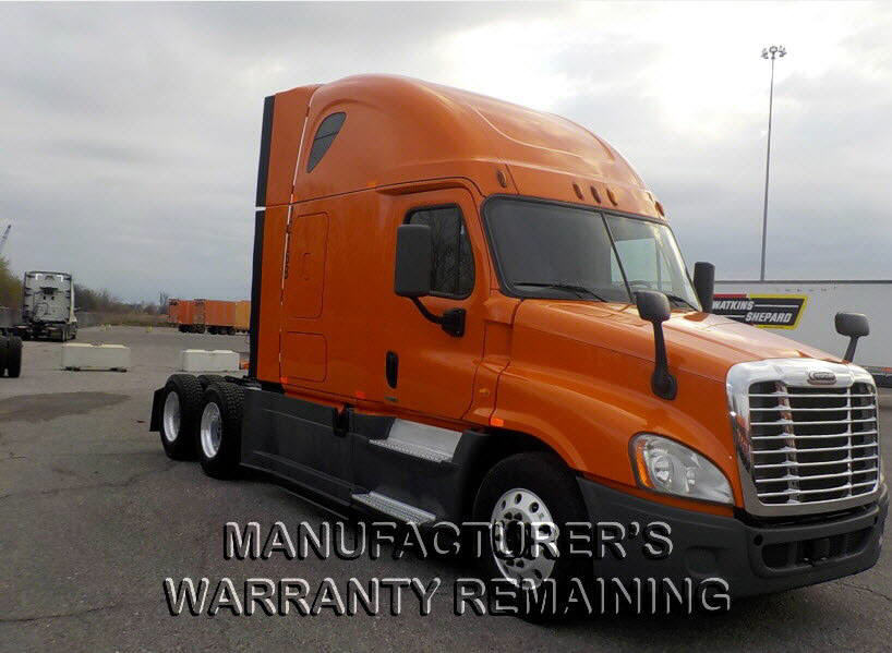 USED 2014 FREIGHTLINER CASCADIA SLEEPER TRUCK #73635