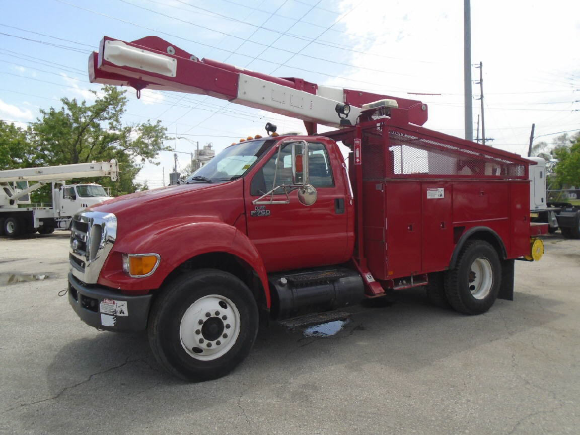 2008 Ford F750